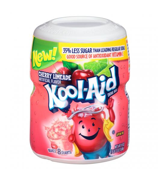 Kool Aid Cherry Limeade Tub - 19oz (538g) Soda and Drinks Kool Aid