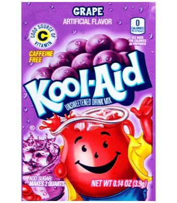 Kool Aid Grape 3.9g  Drink Mixes Kool Aid