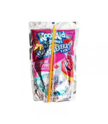 Kool Aid Jammers Sharkleberry - 6oz (177ml) Soda and Drinks Kool Aid