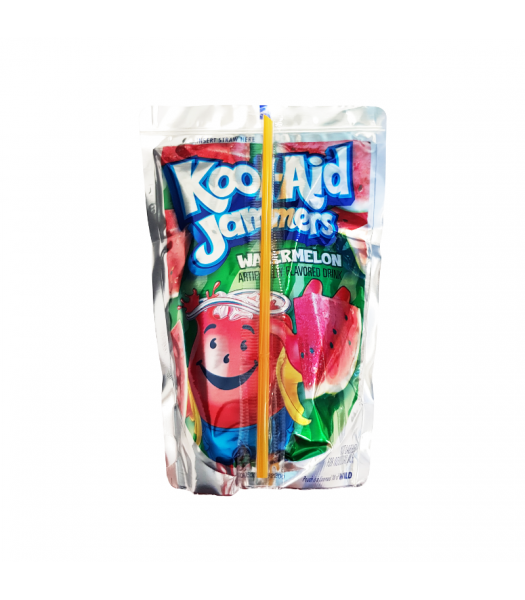 Kool Aid Jammers Watermelon - 6oz (177ml) Soda and Drinks Kool Aid