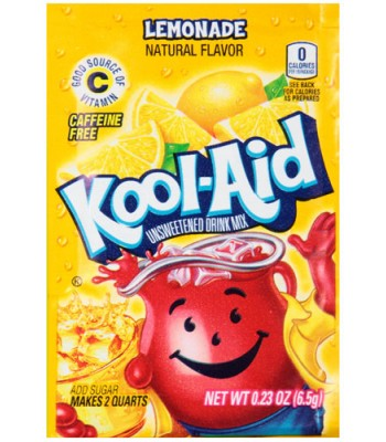 Kool Aid Lemonade 6.5g Drink Mixes Kool Aid