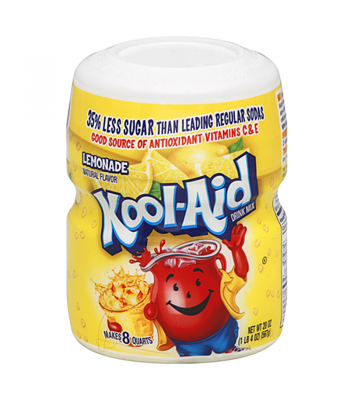 Kool Aid - Lemonade Tub - 20oz (567g) Soda and Drinks Kool Aid
