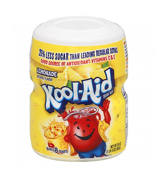 Kool Aid - Lemonade Tub - 20oz (567g) Soda and Drinks Kool Aid