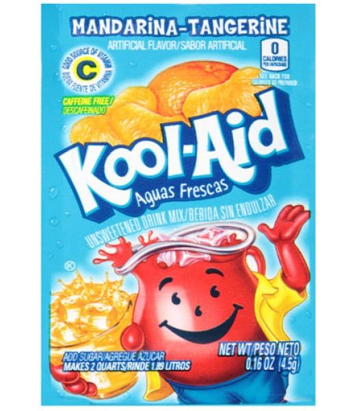 Kool Aid Mandarina-Tangerine Sachet - 0.16oz (4.5g) Soda and Drinks Kool Aid