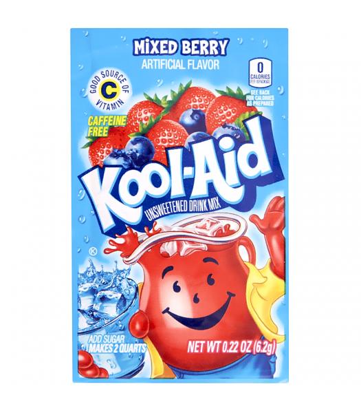 Kool Aid Mixed Berry Drink Mix Sachet - 0.22oz (6.2g) Drink Mixes Kool Aid