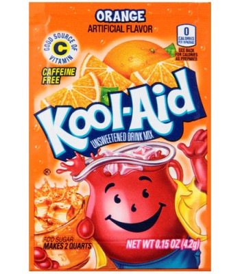 Kool Aid Orange 4.2.g Drink Mixes Kool Aid