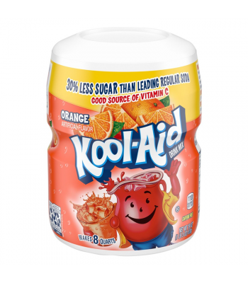 Kool Aid Orange Drink Mix Tub - 19oz (538g) Drink Mixes Kool Aid