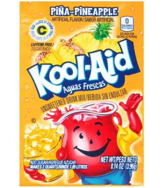 Kool Aid Pineapple 3.96g Drink Mixes Kool Aid