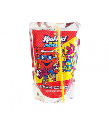Kool Aid Retro Jammers Rock-A-Dile Red - 6oz (177ml) Soda and Drinks Kool Aid