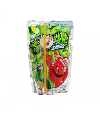 Kool Aid Jammers Sour Apple - 6oz (177ml) Soda and Drinks Kool Aid