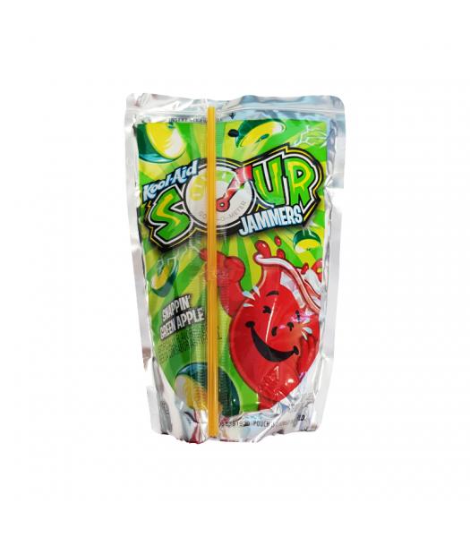 Kool Aid Jammers Sour Apple - 6oz (177ml) Soda and Drinks Kool Aid