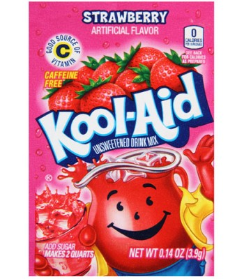 Kool Aid Strawberry 3.9g Drink Mixes Kool Aid