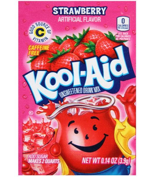 Kool Aid Strawberry 3.9g Drink Mixes Kool Aid
