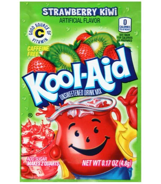 Kool Aid Strawberry Kiwi 4.8g Drink Mixes Kool Aid