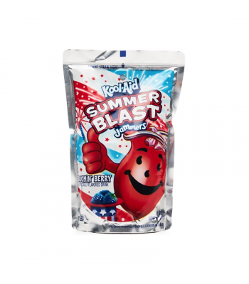 Kool Aid Jammers Summer Blast Booming Berry  - 6oz (177ml)