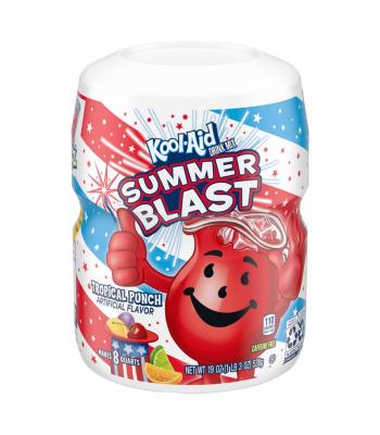 Kool Aid Tropical Punch Drink Mix Tub - 19oz (538g) Soda and Drinks Kool Aid