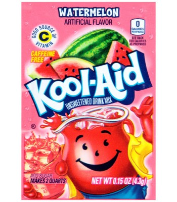 Kool Aid Watermelon Sachet 4.3g Drink Mixes Kool Aid