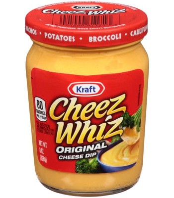 Kraft Cheez Whiz Dip 8oz (226g) Dips & Salsa Kraft