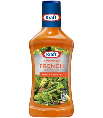 Kraft Creamy French Dressing 16fl.oz (473ml)  Food and Groceries Kraft