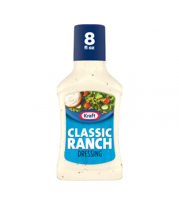Kraft Classic Ranch Dressing - 8fl.oz (237ml) Food and Groceries Kraft