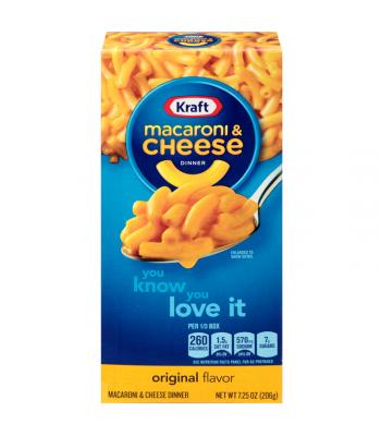Kraft Macaroni Cheese Original 7.25oz (206g) Pasta & Noodles Kraft