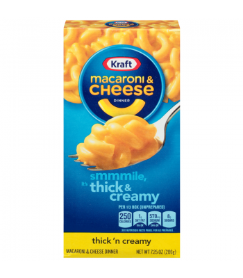 Kraft Macaroni Cheese Thick and Creamy 7.25oz (206g) Pasta & Noodles Kraft