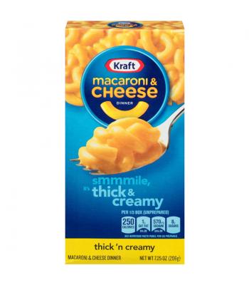 Kraft Macaroni Cheese Thick and Creamy 7.25oz (206g) Pasta & Noodles Kraft