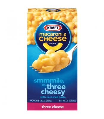 Kraft Macaroni Three Cheese 7.25oz (206g) Pasta & Noodles Kraft