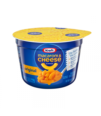Kraft Easy Mac Cup Original - 2.05oz (58g) Food and Groceries Kraft