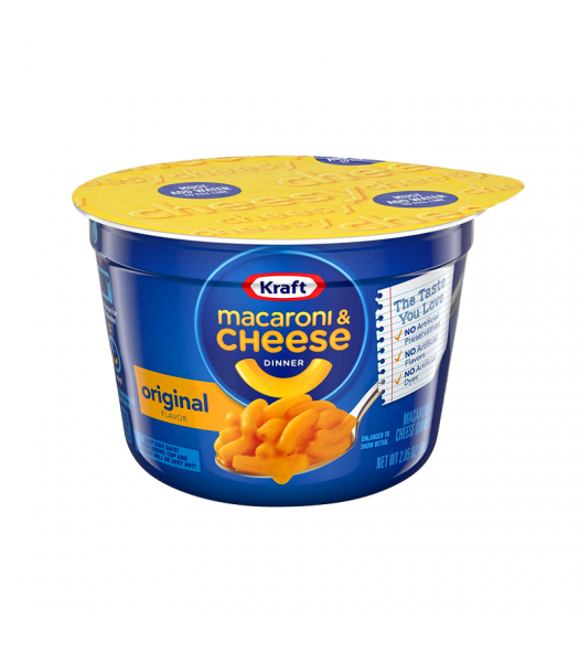 Clearance Special - Kraft Easy Mac Cup Original - 2.05oz (58g) **Best Before: 25 July 21 ** Clearance Zone Kraft