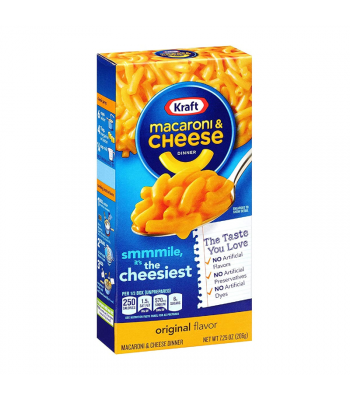 Kraft Macaroni Cheese Original 7.25oz (206g) Food and Groceries Kraft