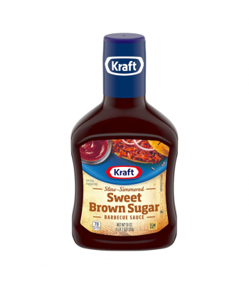 Kraft Sweet Brown Sugar Barbecue Sauce - 18oz (510g) Food and Groceries Kraft
