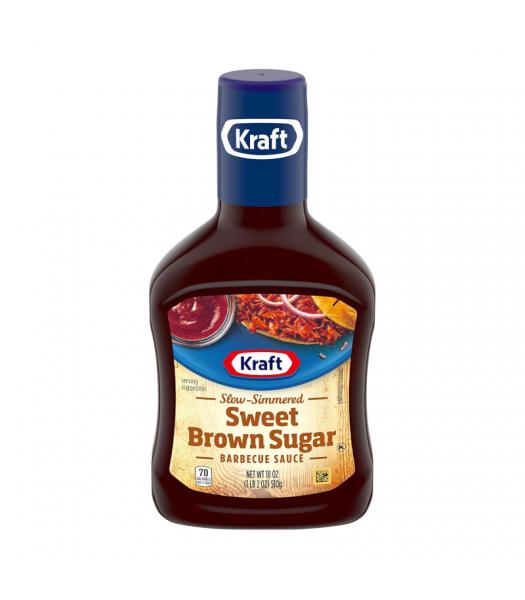 Kraft Sweet Brown Sugar Barbecue Sauce - 18oz (510g) Food and Groceries Kraft