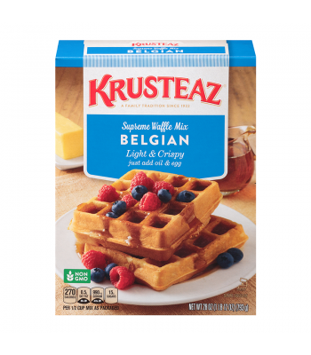 Krusteaz Belgian Waffle Mix 28oz (793g) Food and Groceries Krusteaz