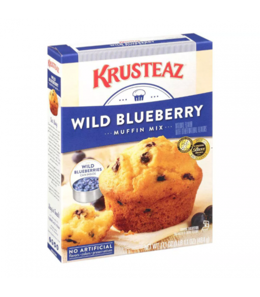 Krusteaz Wild Blueberry Muffin Mix - 17.1oz (484g) Food and Groceries Krusteaz
