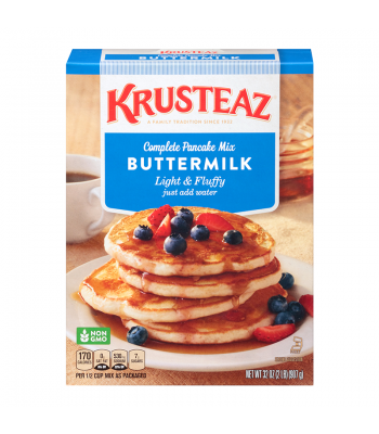Krusteaz Buttermilk Pancake Mix 32oz (907g) Food and Groceries Krusteaz