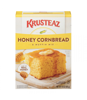 Krusteaz Honey Cornbread & Muffin Mix - 15oz (425g) Food and Groceries Krusteaz