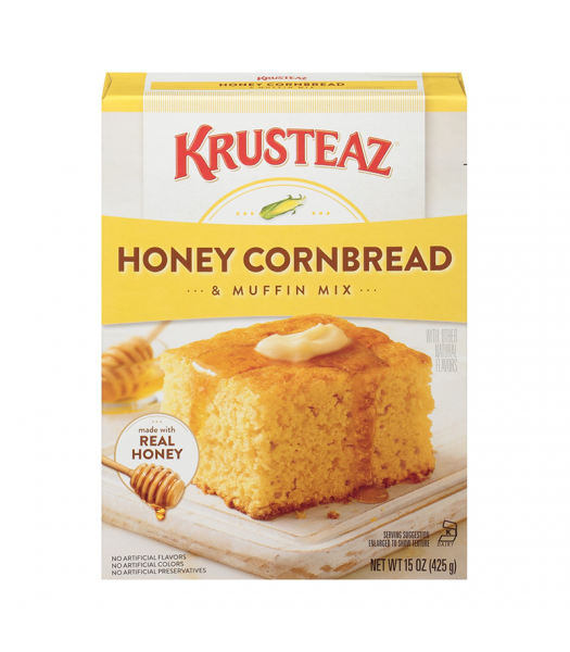 Krusteaz Honey Cornbread & Muffin Mix - 15oz (425g) Food and Groceries Krusteaz