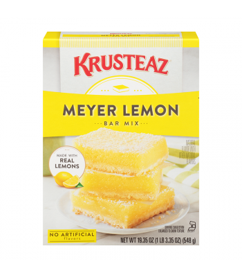 Krusteaz Lemon Bar Mix - 19.35oz (548g) Food and Groceries Krusteaz