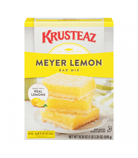 Krusteaz Lemon Bar Mix - 19.35oz (548g) Food and Groceries Krusteaz