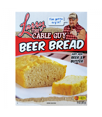 Larry The Cable Guy - Beer Bread - 14oz (397g) Baking & Cooking