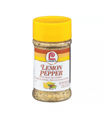 Lawry's Lemon Pepper Seasoning - 2.25oz (63.7g) Food and Groceries Lawry's