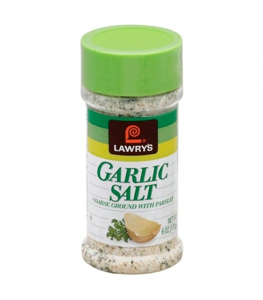Lawry's Garlic Salt 6oz (170g) Food and Groceries