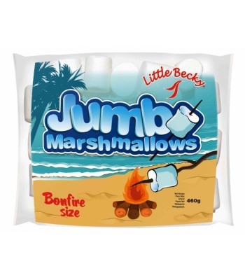 Little Becky JUMBO Marshmallows 460g Sweets and Candy