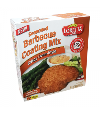 Loretta Crispy Oven-Style Seasoned Barbecue Coating Mix - 4.5oz (128g) Food and Groceries