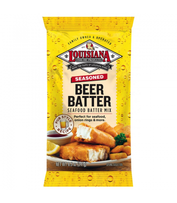 Louisiana Fish Fry Products Beer Batter Mix 8.5oz (241g)
