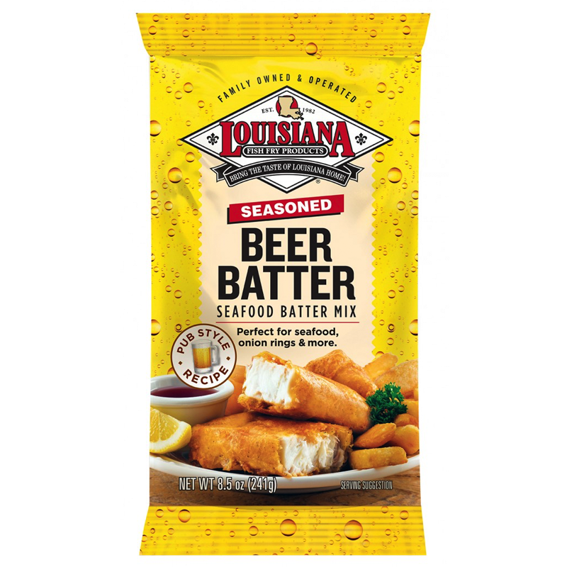 Louisiana Fish Fry Products Beer Batter Mix 241g