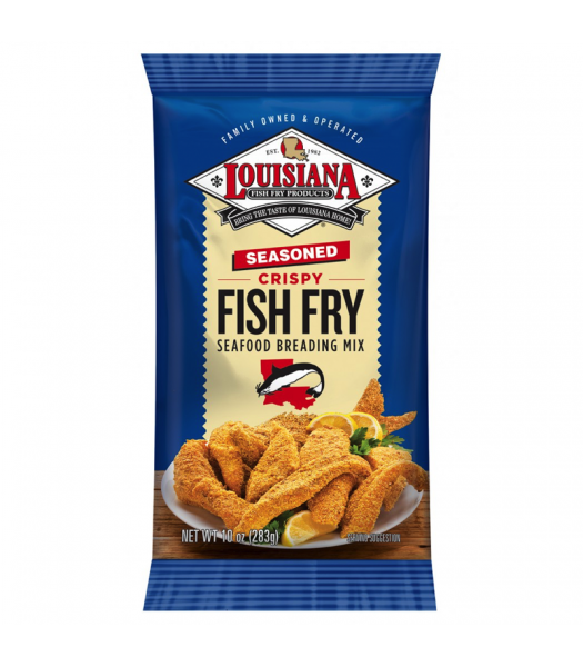 louisiana fish fry products seasoned fish fry 10oz 283g