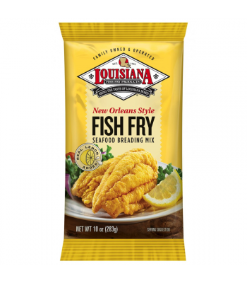 Louisiana Lemon Fish Fry Seasoning 10oz (283g)