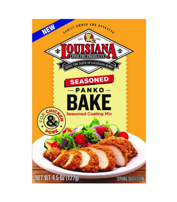 Louisiana Fish Fry Products Panko Bake 4.5oz (128g)